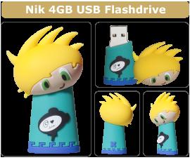 Minkster - Nik - USB minne