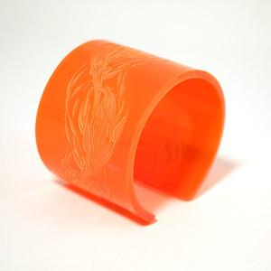 Armband Flame, orange 50 mm