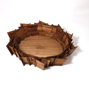 Lazercut bowl, Walnut