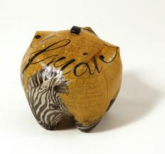 Klikbox Africa Zebra brun