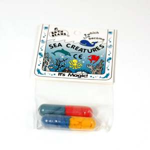 "Bath beans, ""Sea Creatures"""
