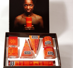 Capula candles gift box Africa Sun