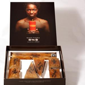 Capula candles gift box Rock Art