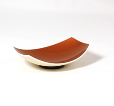 Rectangle copper spice bowl