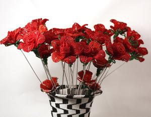 Bouquet Roses, 5