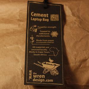 Cement Laptopväska 13 tum, gul