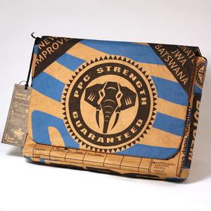 Cement Laptop Bag 13 inches, blue