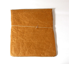 Cement iPad sleeve, brown