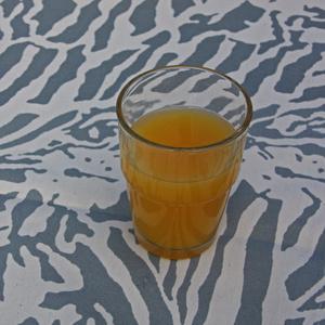 Botanical Zebra Runner, Light grey