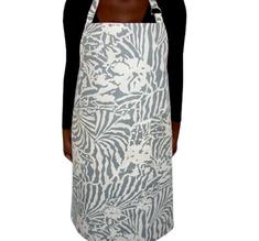 Botanical Zebra Förkläde, Ljusgrå