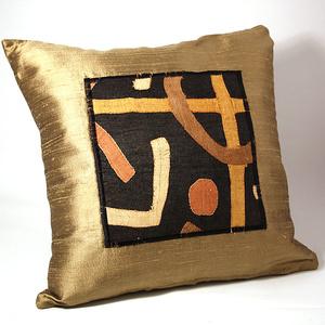 Kuddfodral Golden silk