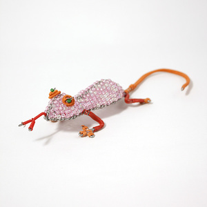 Small pink funky gecko